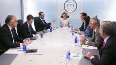 Comité de Dirección del PP. (Foto: EFE)