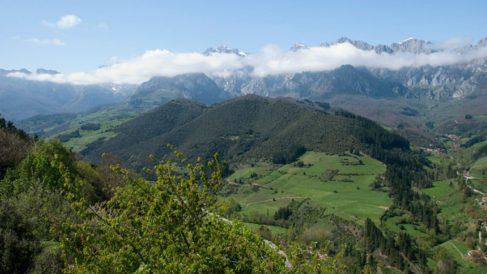 Vista del Parque Nacional de los Picos de Europa (Foto:Turismo Cantabria)