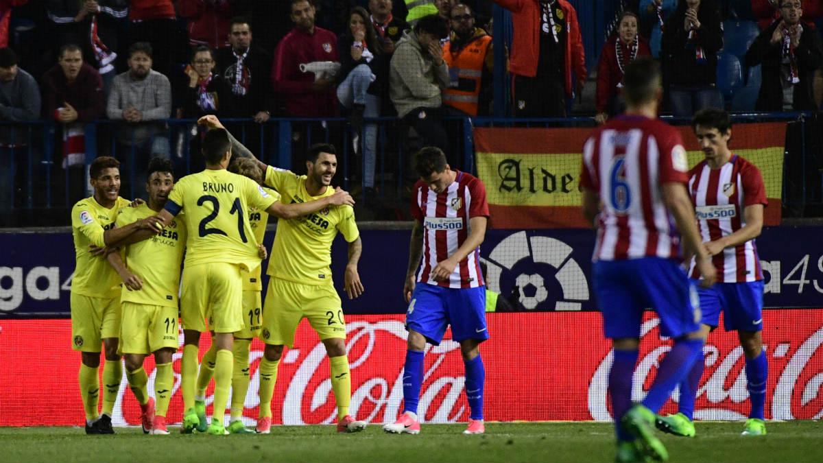 Roberto Soriano anotó el gol del triunfo contra el Atlético. (Foto: AFP)