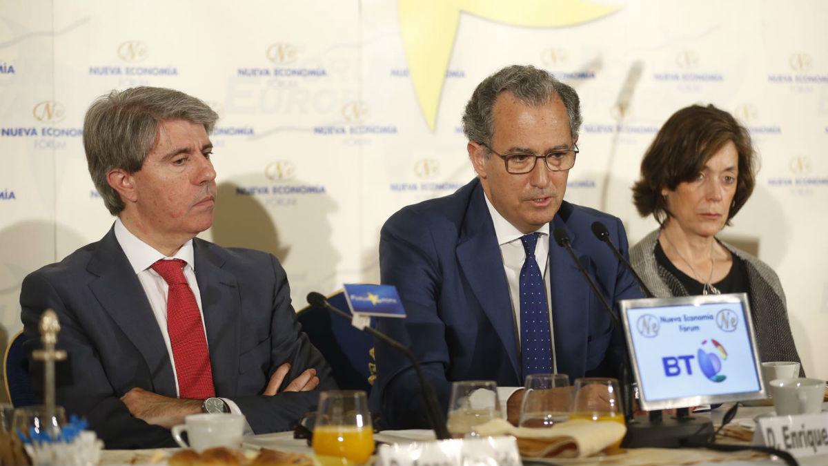 Ángel Garrido y Enrique Ossorio (Alberto Cuéllar/ PP Madrid).
