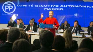 Cristina Cifuentes (PP Madrid/ Alberto Cuéllar).