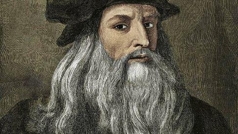 Exposición sobre Leonardo Da Vinci.