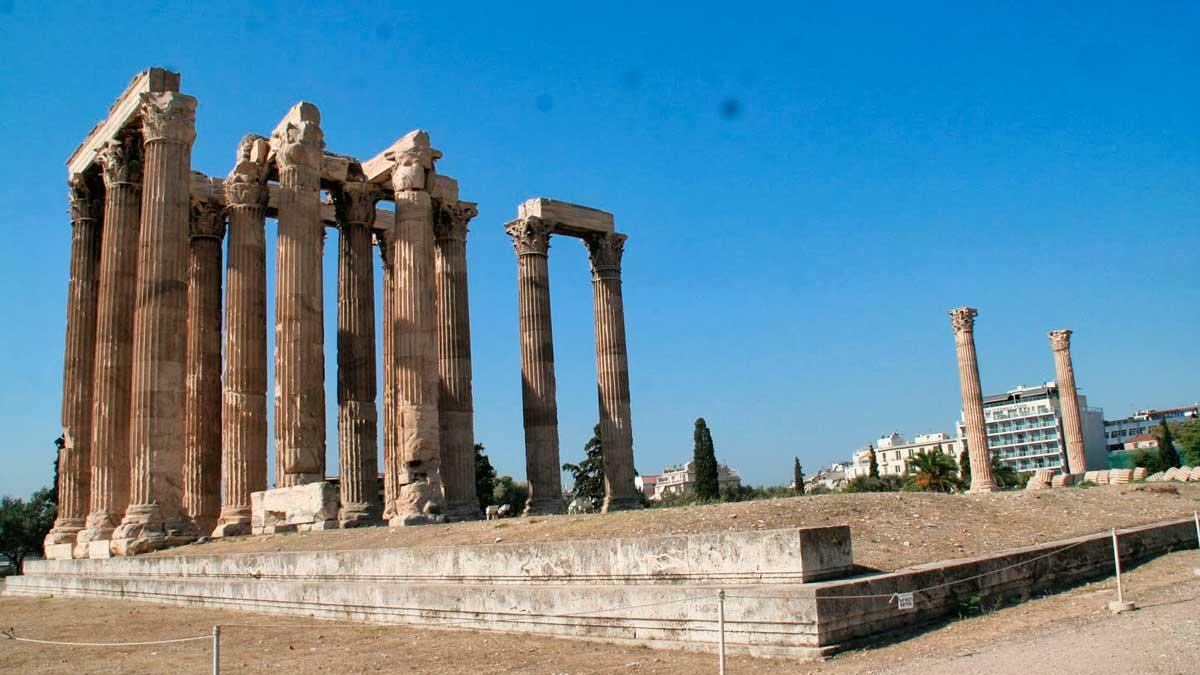 Antiguo templo romano