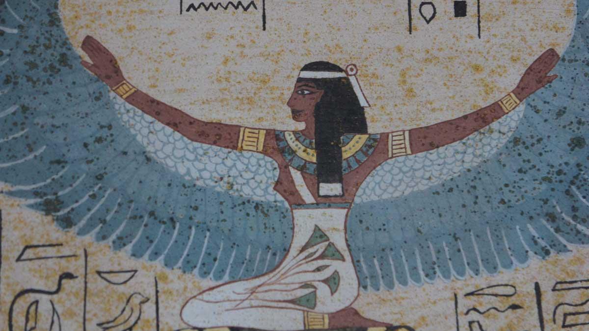 Los egipcios adoraban a Isis, la Gran diosa madre