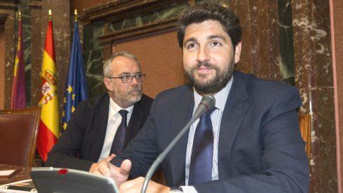 El candidato del PP para presidir el Gobierno de la Región de Murcia, Fernando López Miras (Foto: Efe)
