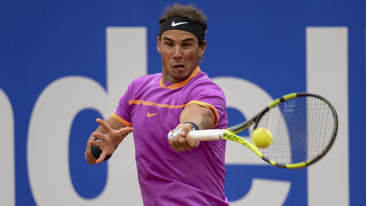 Rafa Nadal gana a Kevin Anderson y ya está en cuartos. (AFP)