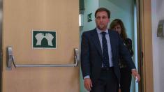 El portavoz del PP en el Ayuntamiento de Madrid, José Luis Martínez Almeida (Foto: Alberto Nevado / OKDIARIO)