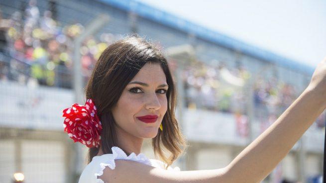 Azafata en el GP de Jerez de 2016
