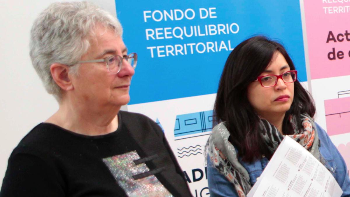 Las concejales Montse Galcerán y Rommy Arce. (Foto: Madrid)