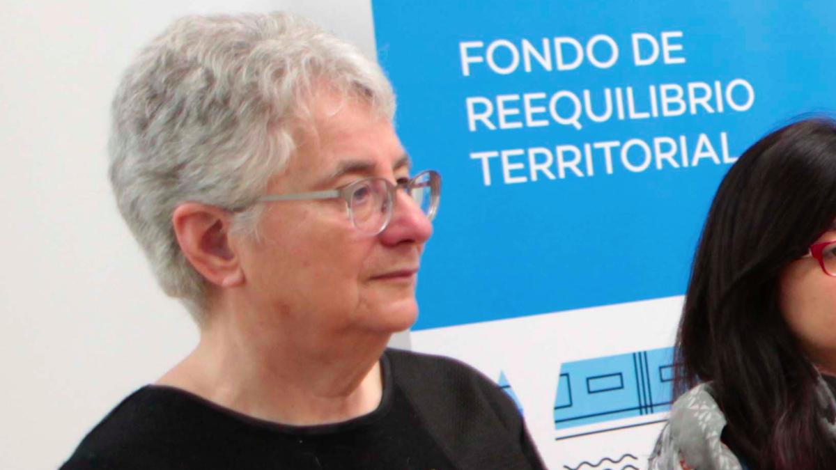 La edil Montse Galcerán. (Foto: Madrid)