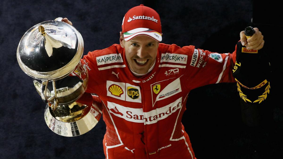 Sebastian Vettel ha asegurado que espera que Mercedes sea, de largo, el equipo más fuerte en el Gran Premio de Rusia que se disputa en Sochi. (Getty)