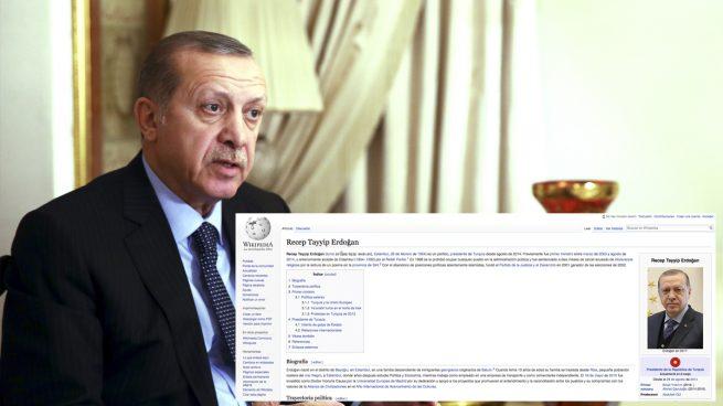 Erdogan bloquea el acceso a Wikipedia a todos los turcos