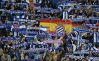 Aficionados del Espanyol critican al club por no posicionarse sobre el referéndum del 1-O