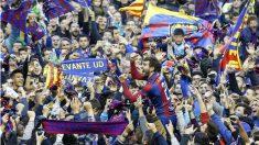El Levante celebra el ascenso a Primera División. (EFE)