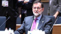 Mariano Rajoy en Bruselas (Foto: AFP).