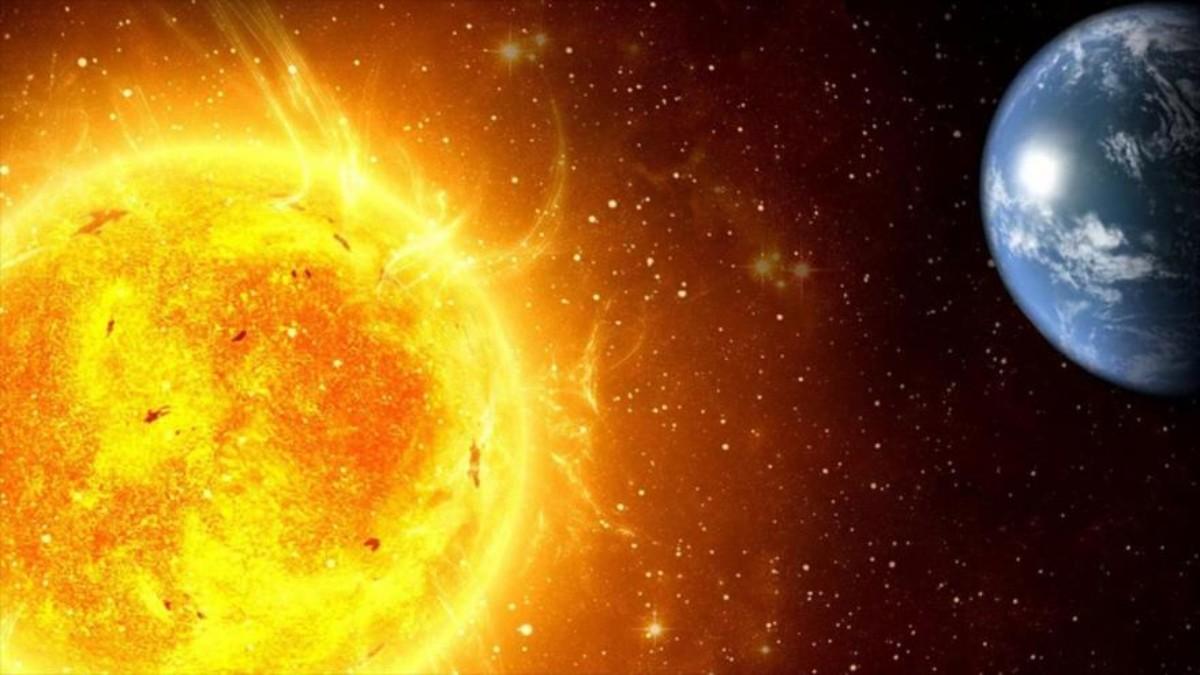 El Sol, la centro del Sistema Solar