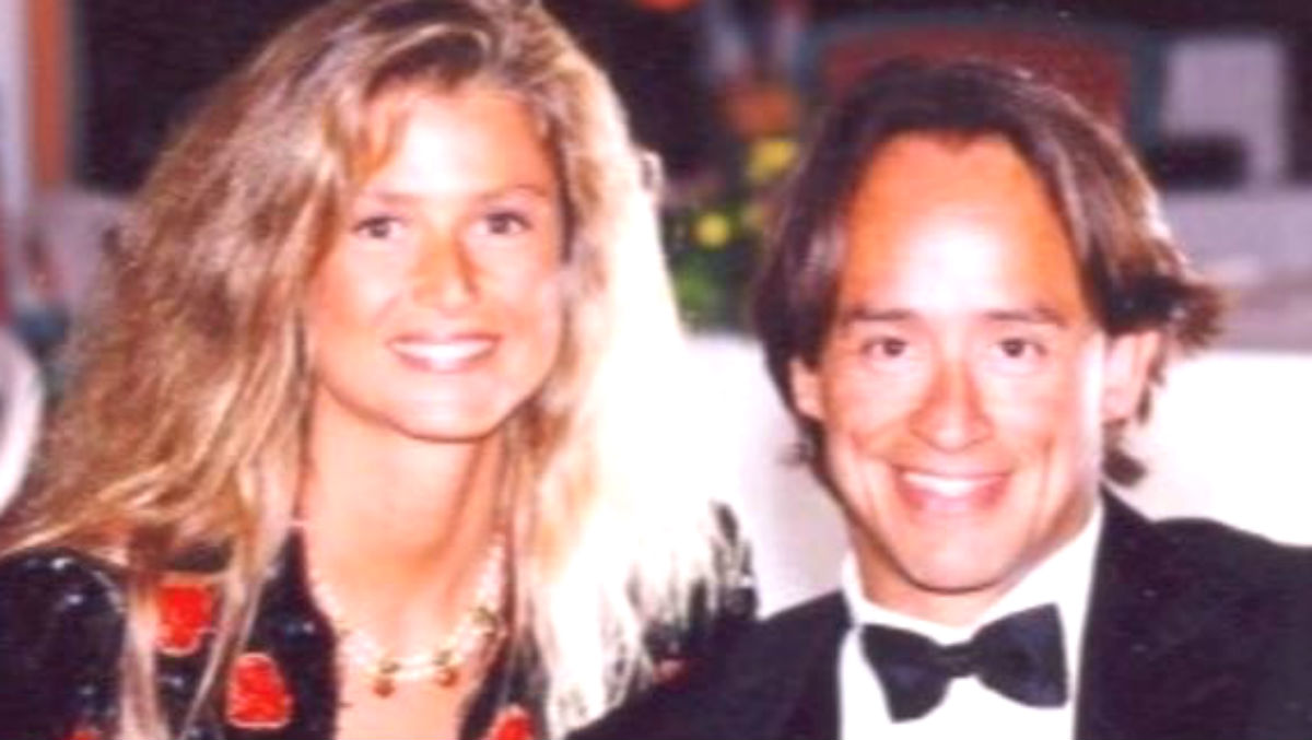 El empresario Adrián de la Joya y su mujer, Cristina Fernández-Longoria (Foto: OKDIARIO).