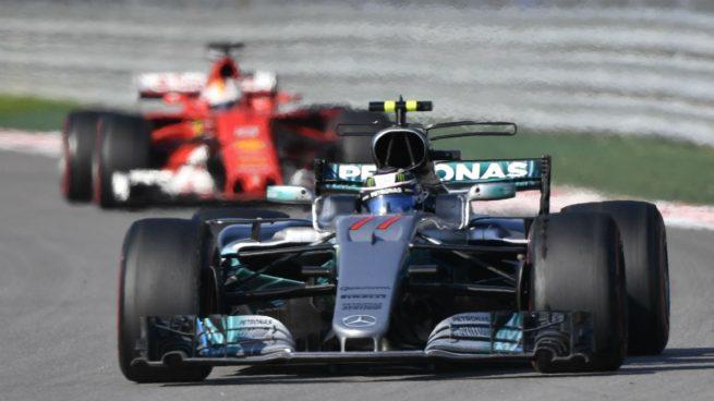 Bottas se estrena y Sainz puntúa tras el prematuro abandono de Alonso