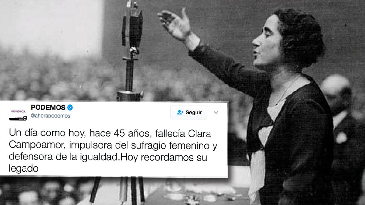 Tuit de Podemos