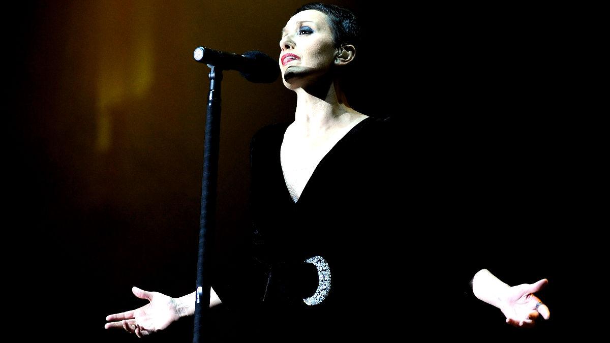 Luz Casal en un concierto en Madrid (Foto: Getty).