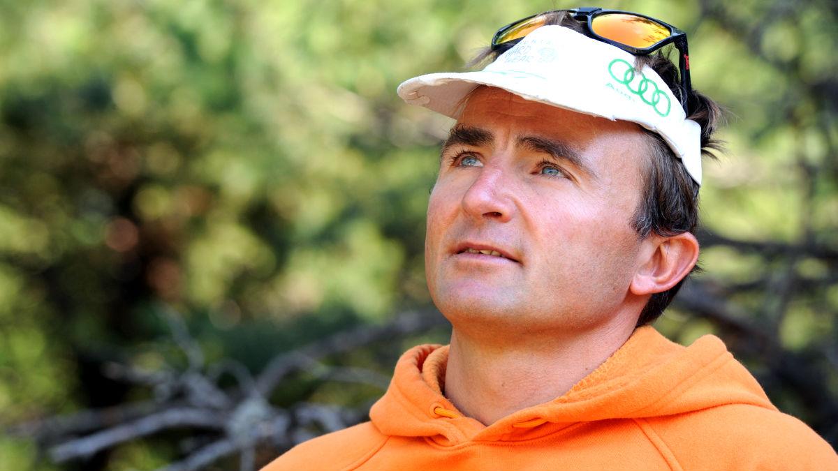 El alpinista suizo Ueli Steck en una imagen de 2015 (Foto: AFP).