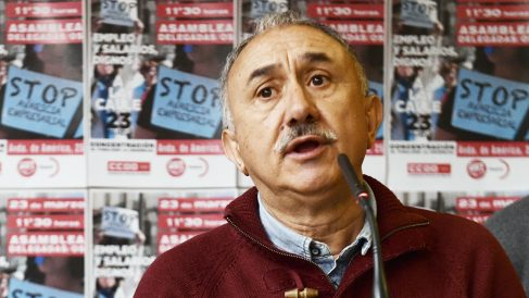 Pepe Álvarez. (Foto: AFP)