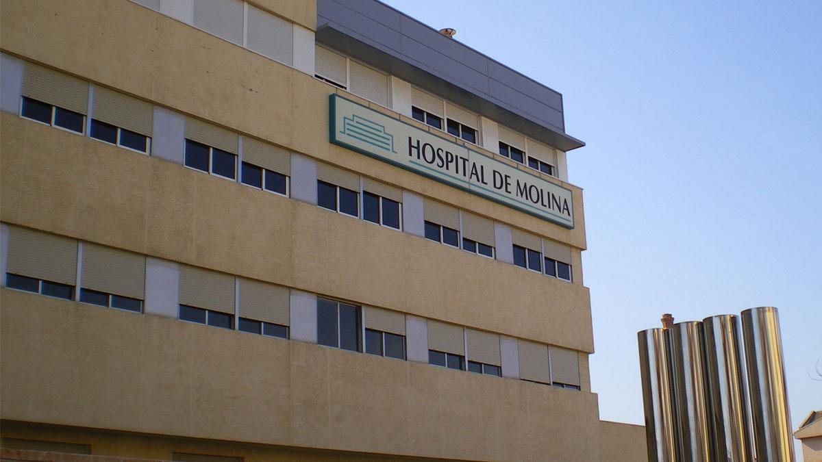 Fachada del Hospital de Molina de Segura (Murcia)