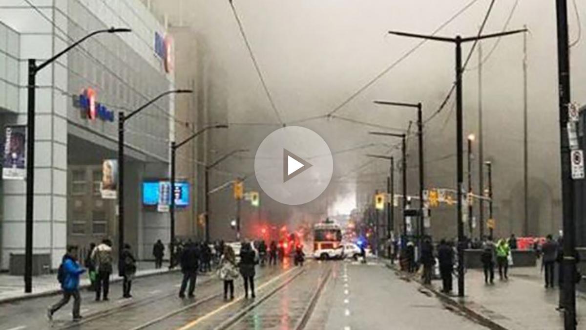 Pánico en Toronto tras varias explosiones subterráneas en el sistema ...