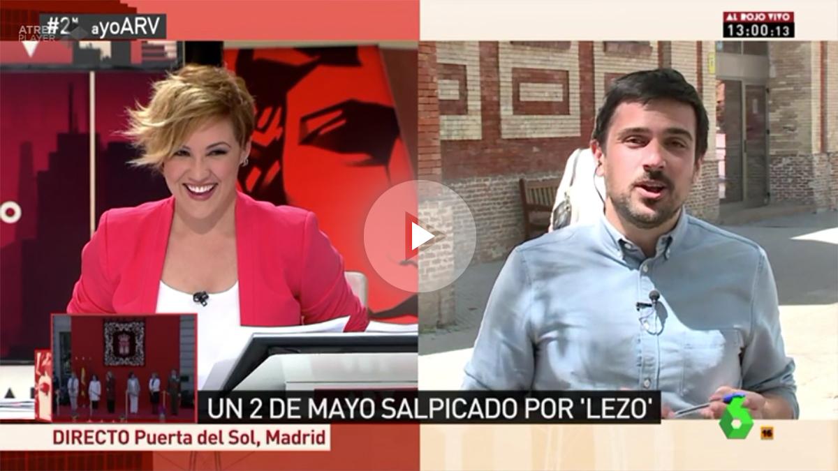 Cristina Pardo entrevista a Ramón Espinar.