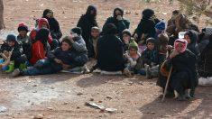 Campo de refugiados. AFP