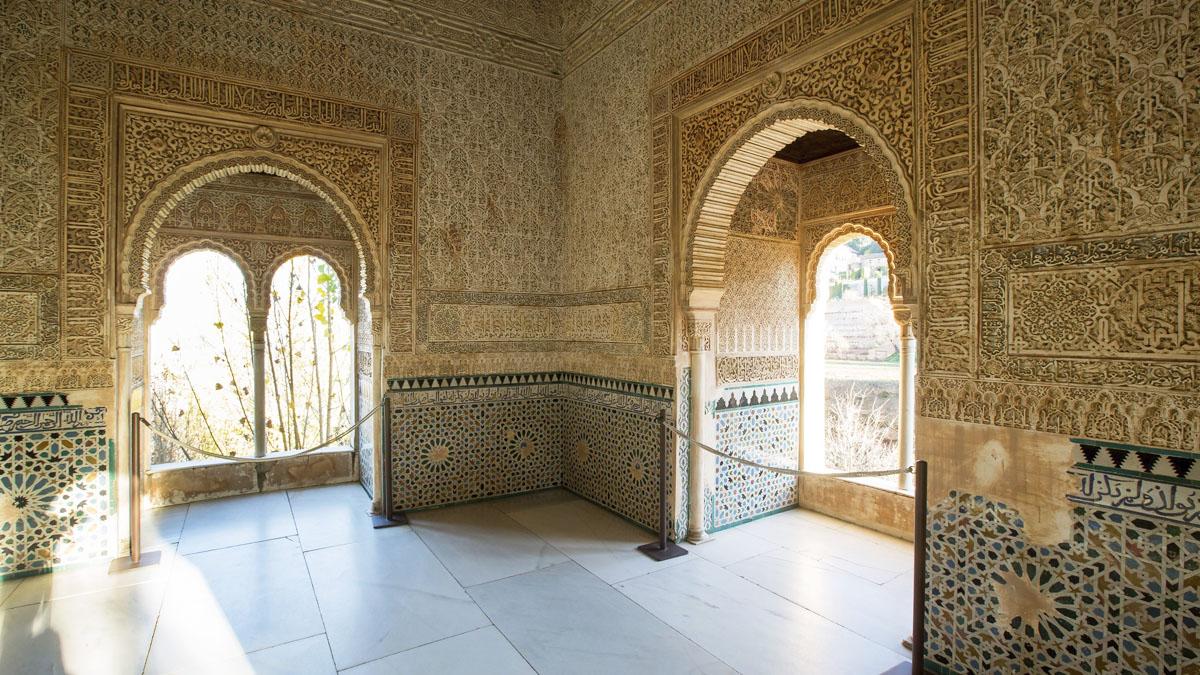 Torre de la Cautiva en la Alhambra de Granada. (Foto: EFE)