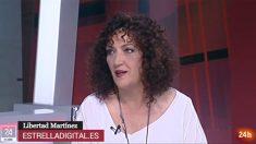 Libertad Martínez en TVE.