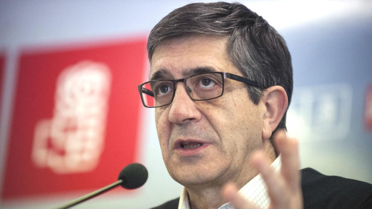 El candidato a las primarias del PSOE Patxi López (Foto: Efe)