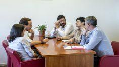 Reunión de Podemos con EH BIldu (Foto: Flickr Podemos)