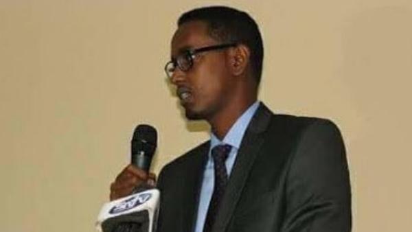 El ministro somalí Abbas Siraj