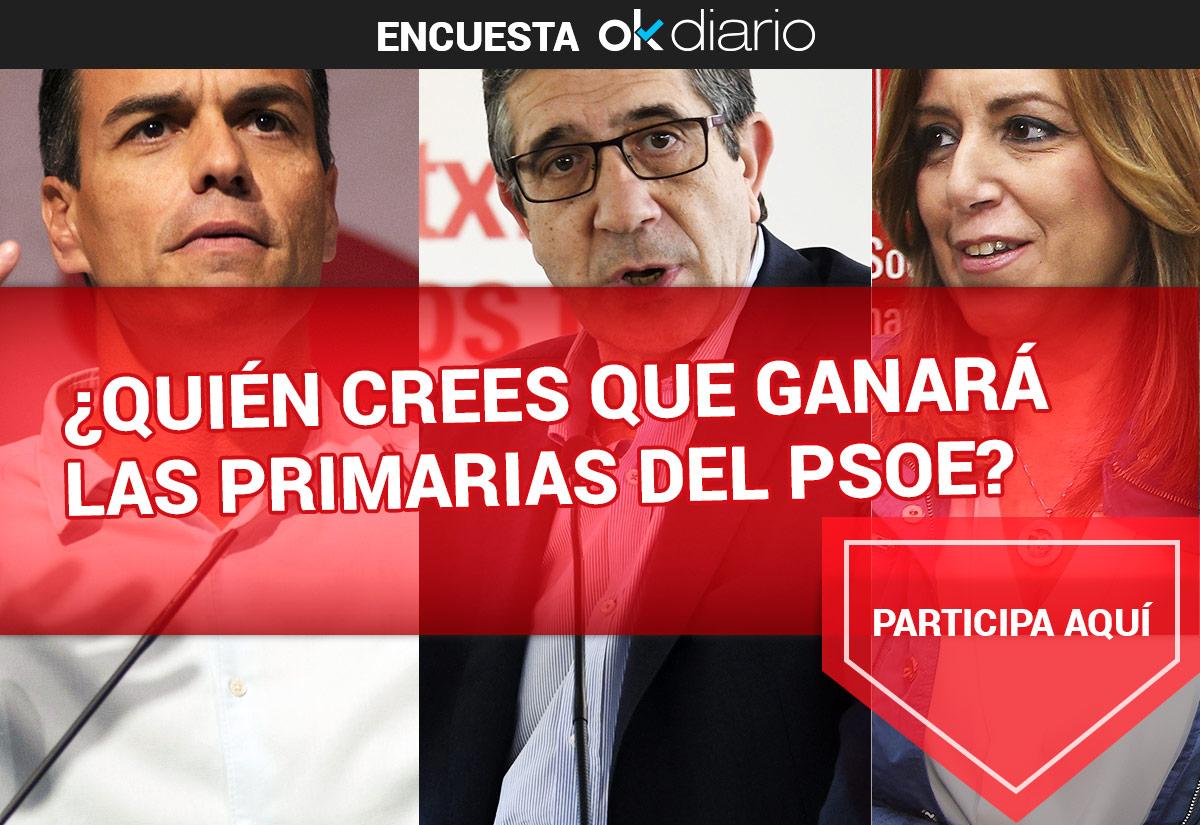 ¿Quién ganará las primarias del PSOE?