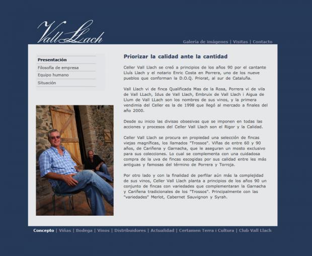 Lluís Llach no es tan independentista al jugarse su dinero: la web de su empresa sólo está en español