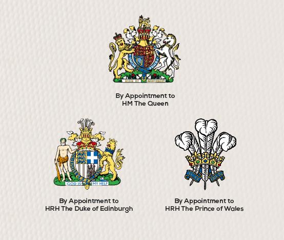 El gran sello de la Casa Real de Inglaterra que hace de oro a las empresas