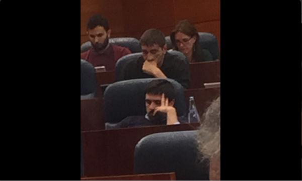 Ramón Espinar (Twitter PP Madrid)