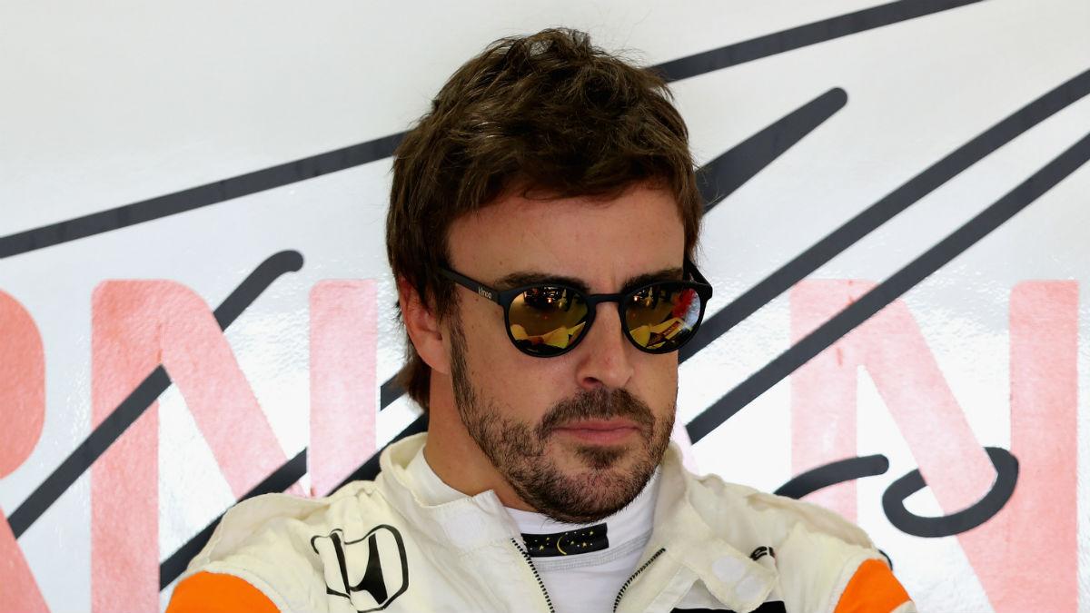 Fernando Alonso se ha mostrado muy satisfecho con el desarrollo del que ha sido su primer test al volante del monoplaza con el que competirá en Indianápolis. (Getty)