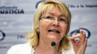 Luisa Ortega Díaz, fiscal general de Venezuela. (Foto: AFP)