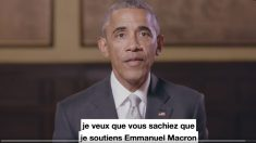 Obama apoya a Macron en la carrera a las presidenciales francesas