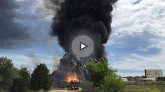 Explosiones en Arganda del Rey (Foto:OKD)