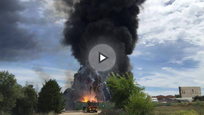 incendio-explosiones-arganda del rey