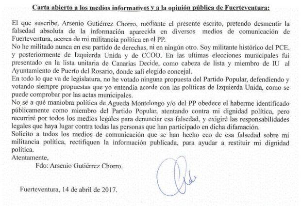 El PP canario descubre que entre sus afiliados hay un candidato de C's al Senado y ediles de PSOE e IU