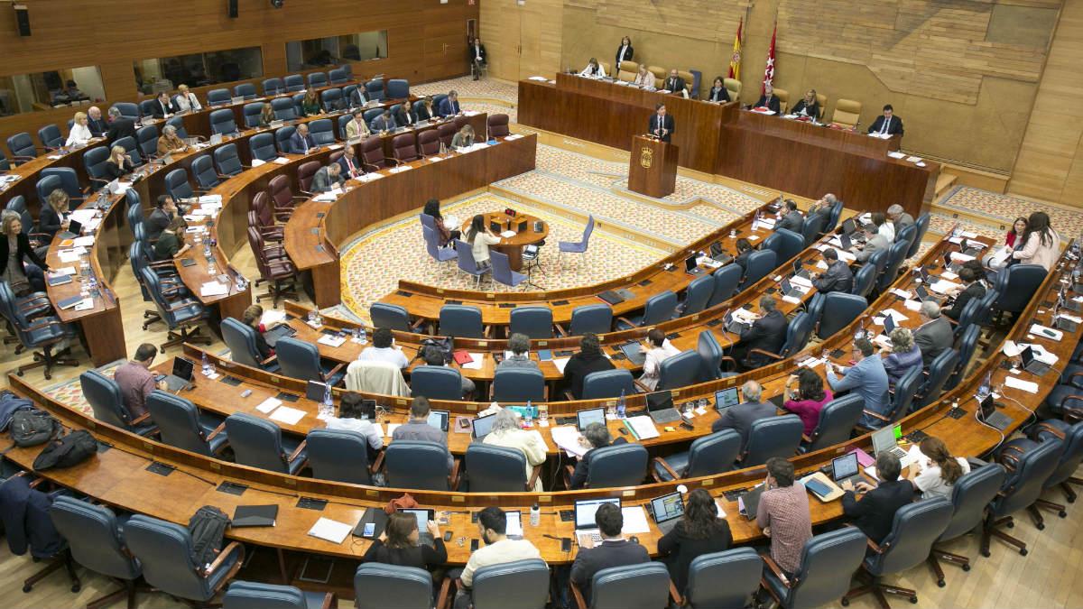 Pleno Presupuestos (PP Madrid/Alberto Cuéllar).
