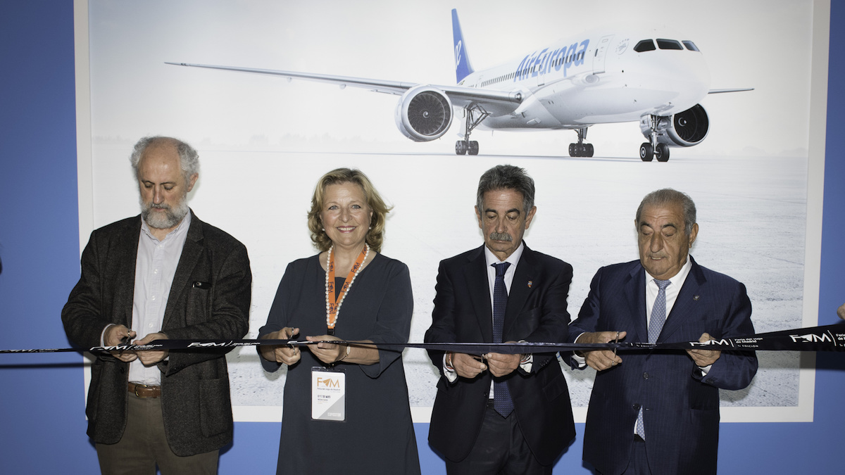 Inauguración de la primera edición de la Feria del Viaje de Madrid, organizada por Globalia.
