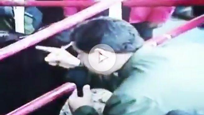 El estrafalario dictador Maduro le pide el apoyo a su nueva constitución ¡a unas vacas!
