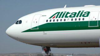Uno de los aviones de Alitalia (Foto: Alitalia)
