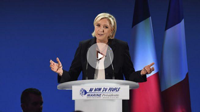 Marine Le Pen acepta su derrota y le desea «éxito» a Macron